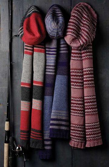 chalinas a crochet para hombres