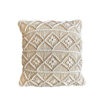 fundas para almohadones en crochet salas