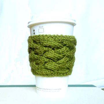 fundas tejidas para tazas mangas vaso cafe