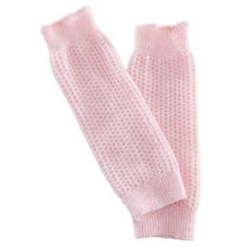 polainas tejidas para niñas color