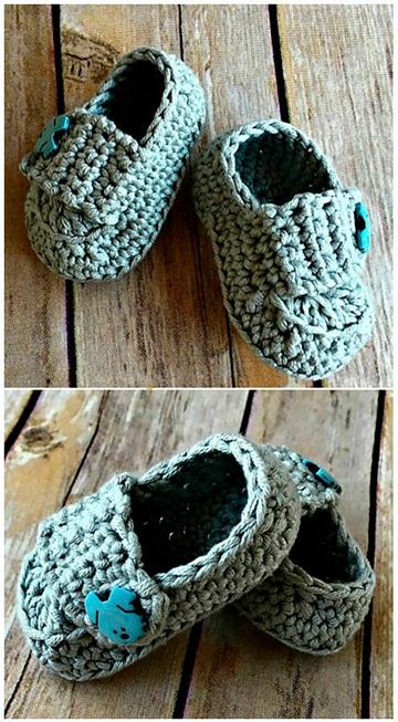 zapatitos y pantuflas tejidas para niña