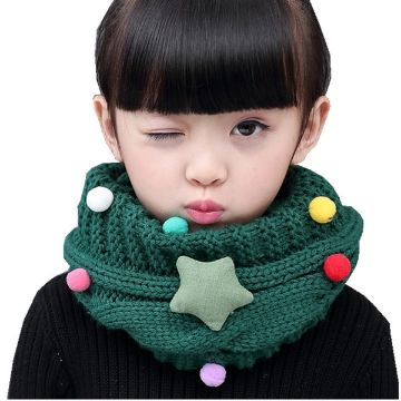 bufandas navideñas para niños detalles
