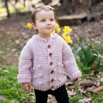chompas para niñas a crochet de lana