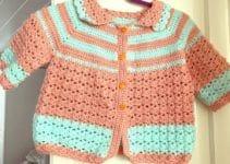 3 esenciales pasos para hacer chompas para niñas a crochet