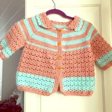 chompas para niñas a crochet para bebe