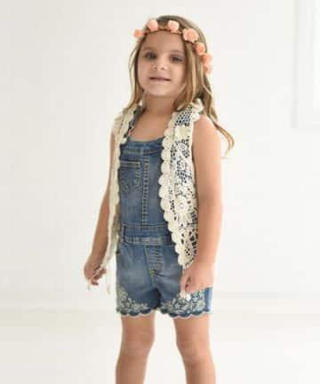 chompas para niñas a crochet tipo chaleco