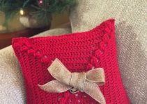 2 cojines decorativos de navidad y otros tejidos