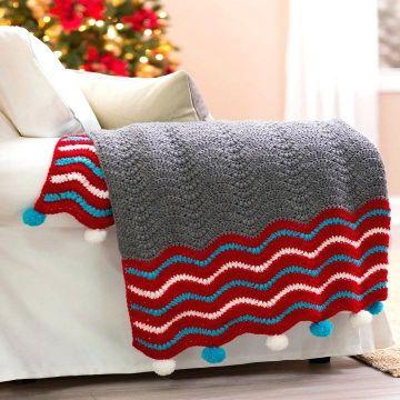 cojines decorativos de navidad y mantas