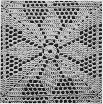 cubrecamas tejidos a crochet punto calado
