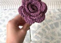 7 diferentes diseños de flores hechas a crochet