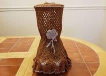 5 pasos para hacer fundas para licuadoras a crochet