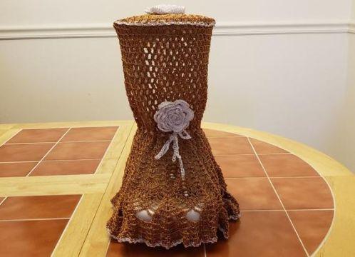fundas para licuadoras a crochet detalles