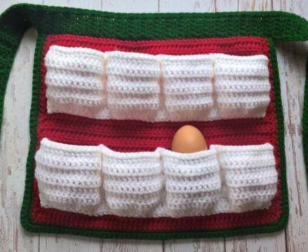 mandiles navideños para niños cintura