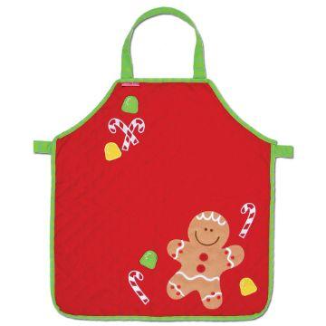 mandiles navideños para niños con tela