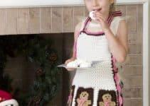 Divertidos mandiles navideños para niños 5 años