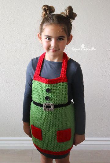mandiles navideños para niños tipo disfraz