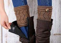 3 ejemplos de usos para las polainas de lana para botas