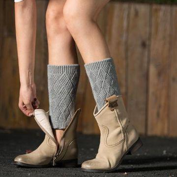polainas de lana para botas originales