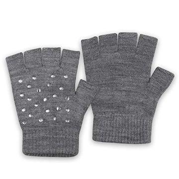 tejidos a palitos para niñas guantes