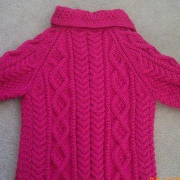 tejidos a palitos para niñas invierno