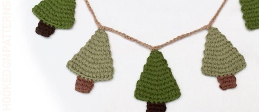 arbolitos de navidad al crochet para adornar