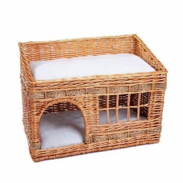 camas tejidas para gatos casitas
