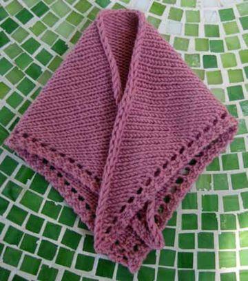 chalinas tejidas a crochet elegantes