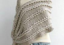 4 diseños bonitos de chalinas tejidas a crochet