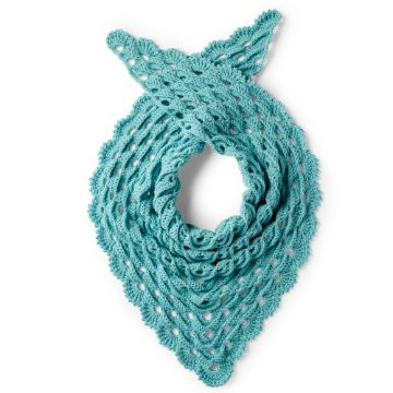 chalinas tejidas a crochet pequeñas