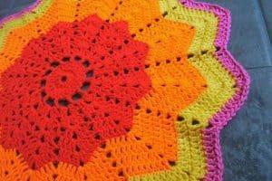 3 pasos sencillas para una estrella tejida a crochet