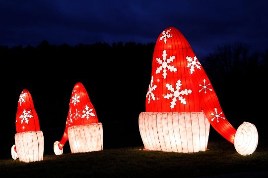 gorros navideños con nombres para decorar