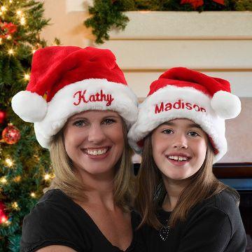 gorros navideños con nombres para vestir