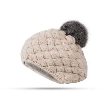 boinas a crochet para niñas con pompon