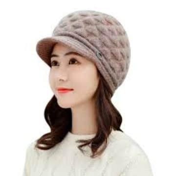boinas a crochet para niñas con visera