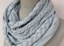 5 pasos para hacer bufandas circulares tejidas a mano