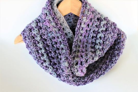 bufandas de colores a crochet elegantes