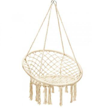 hamacas tejidas a mano en forma de silla