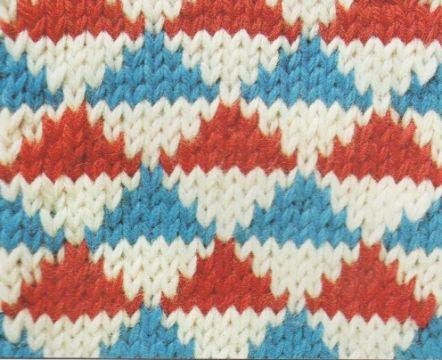 triangulos tejidos en crochet impresos