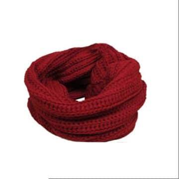 bufandas de lana para mujer redonda