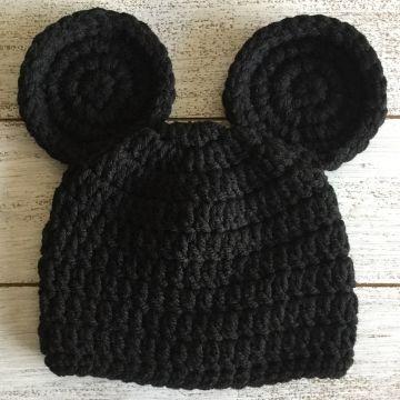 gorros tejidos de mickey mouse punto original