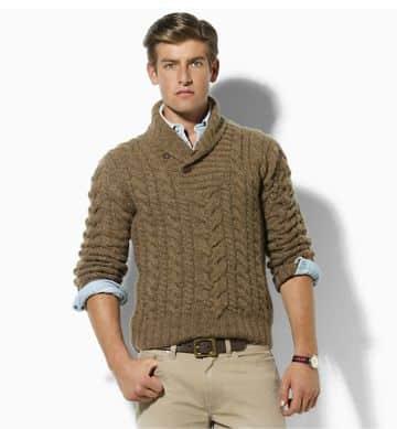 jerseys de lana hechos a mano elegantes