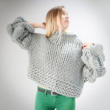 jerseys de lana hechos a mano juveniles