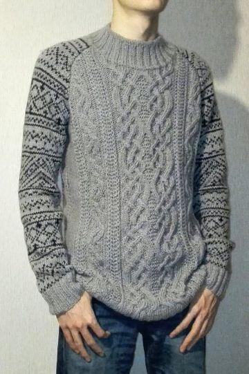 jerseys de lana hechos a mano para hombre