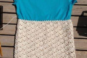 Geniales diseños de poleras a crochet para niñas 2020