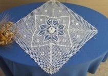 Tejidos y bordados de servilletas para decorar 2 espacios