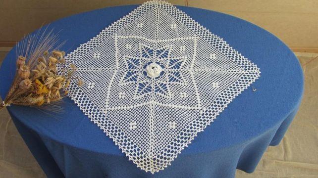 tejidos y bordados de servilletas decorativas