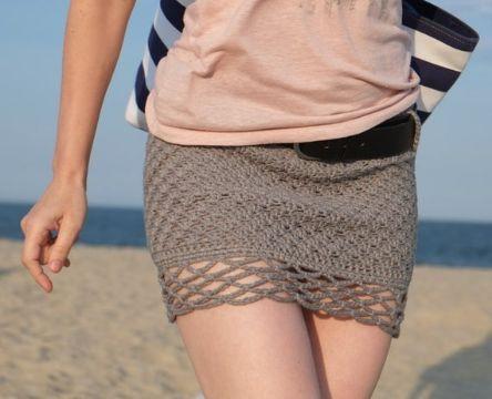 faldas cortas a crochet paso a paso puntos