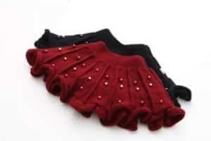 Detalles para faldas tejidas para niñas de 3 años