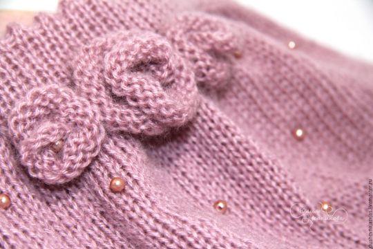 faldas tejidas para niñas detalles
