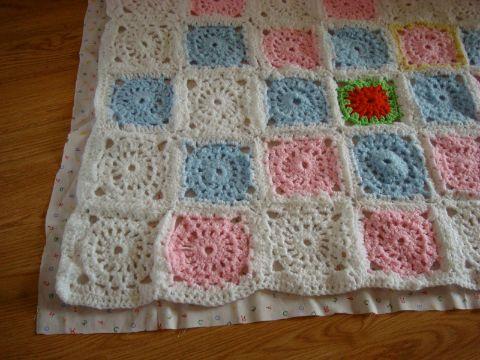 tejidos a crochet para mantas con muestras